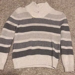 Nautica Boys Sweater Toggle Neck Size XL/7X